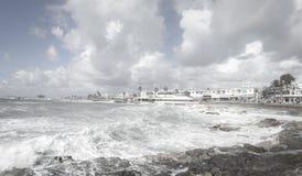 地中海风暴 库存照片