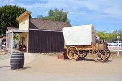 地亚哥老圣城镇 免版税库存图片