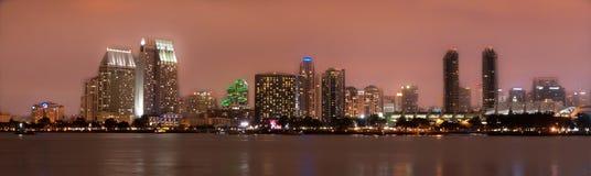地亚哥街市圣地平线 免版税图库摄影