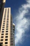 地亚哥街市圣skyview 库存照片
