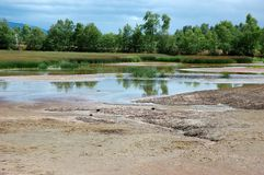 地产河 库存图片