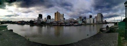 地势图黎刹公园,马尼拉,菲律宾 库存图片