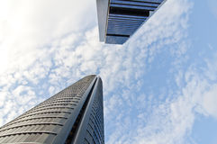 地区交易cuatro马德里torres 免版税库存照片