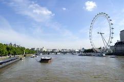 地区在声望河都市的泰晤士附近的格林威治伦敦 免版税库存图片