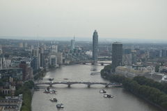 地区在声望河都市的泰晤士附近的格林威治伦敦 免版税库存照片