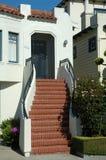 地区弗朗西斯科房子海滨广场圣 免版税库存图片