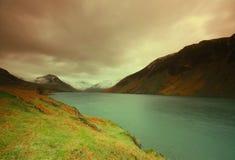 地区我湖 库存图片