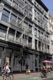 地区曼哈顿soho 免版税库存照片