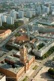 地区柏林视图 免版税库存照片