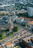 地区柏林视图 库存照片