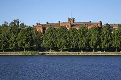 地区法院在瓦萨 芬兰 免版税库存图片
