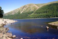 地区湖风景 库存图片