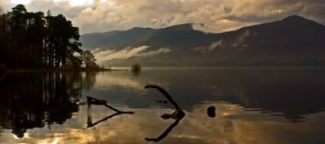 地区湖 库存照片