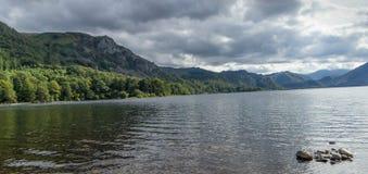 地区英国湖 图库摄影