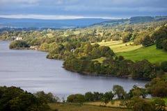 地区英国湖ullswater 免版税库存图片