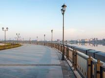 地区莫斯科一幅全景 喀山市,俄罗斯 库存照片