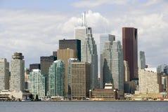 地区财务多伦多 免版税库存照片