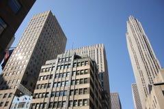 地区财务曼哈顿 库存图片