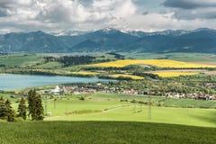 地区Liptov,斯洛伐克 免版税库存照片