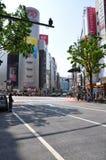 地区shibuya 免版税库存图片