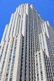 地图集中心曼哈顿新的洛克菲勒・约克 免版税图库摄影
