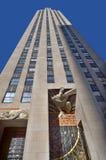 地图集中心曼哈顿新的洛克菲勒・约克 免版税库存照片