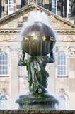 地图集喷泉-城堡霍华德-北约克郡-英国 免版税库存照片