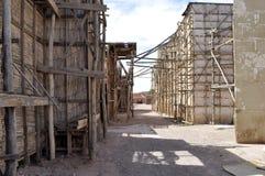 地图集工作室Ouarzazate, 4月20,2012日 免版税库存照片