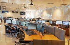 地图集的控制室 免版税图库摄影