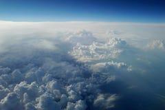 地图集 在天空 免版税库存图片