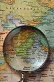 地图 免版税库存图片