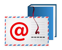 地址簿e邮件 免版税库存图片
