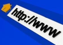 地址背景互联网 图库摄影