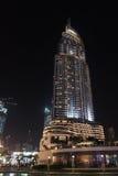 地址街市迪拜旅馆 免版税库存照片