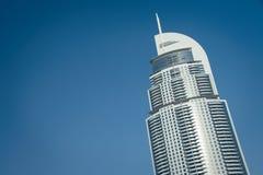 地址迪拜 免版税库存照片