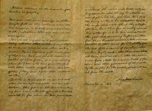 地址gettysburg再生产 免版税图库摄影