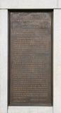 地址gettysburg抄本 免版税图库摄影