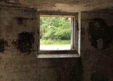 地堡窗口 图库摄影