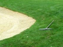 地堡高尔夫球 库存照片