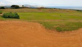地堡高尔夫球 免版税库存照片