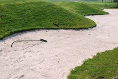 地堡高尔夫球 库存图片