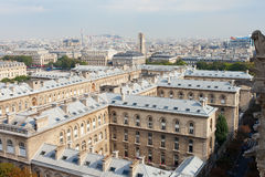 巴黎地平线。 免版税图库摄影