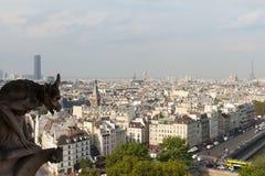 巴黎地平线。 库存照片