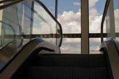 地平线在希尔顿饭店,奥斯汀得克萨斯美国的一个电梯 图库摄影