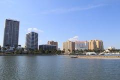 地平线在West Palm Beach 库存图片