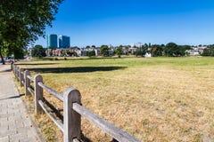 地平线城市阿纳姆在荷兰 免版税库存图片