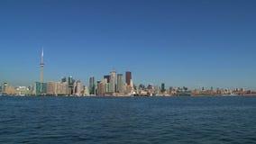 地平线多伦多,加拿大 影视素材