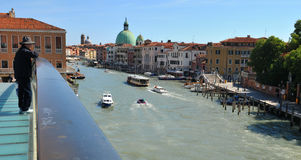 地平线威尼斯 库存图片