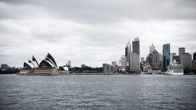 地平线悉尼 库存照片