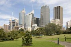 地平线悉尼 免版税库存图片